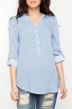 Shoptiques Product: Woven Striped Shirt