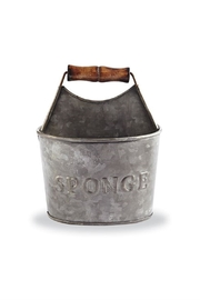 Mud Pie Tin Sponge Holder - Front cropped