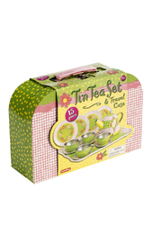 Schylling Tin Tea Set In Case - Product Mini Image