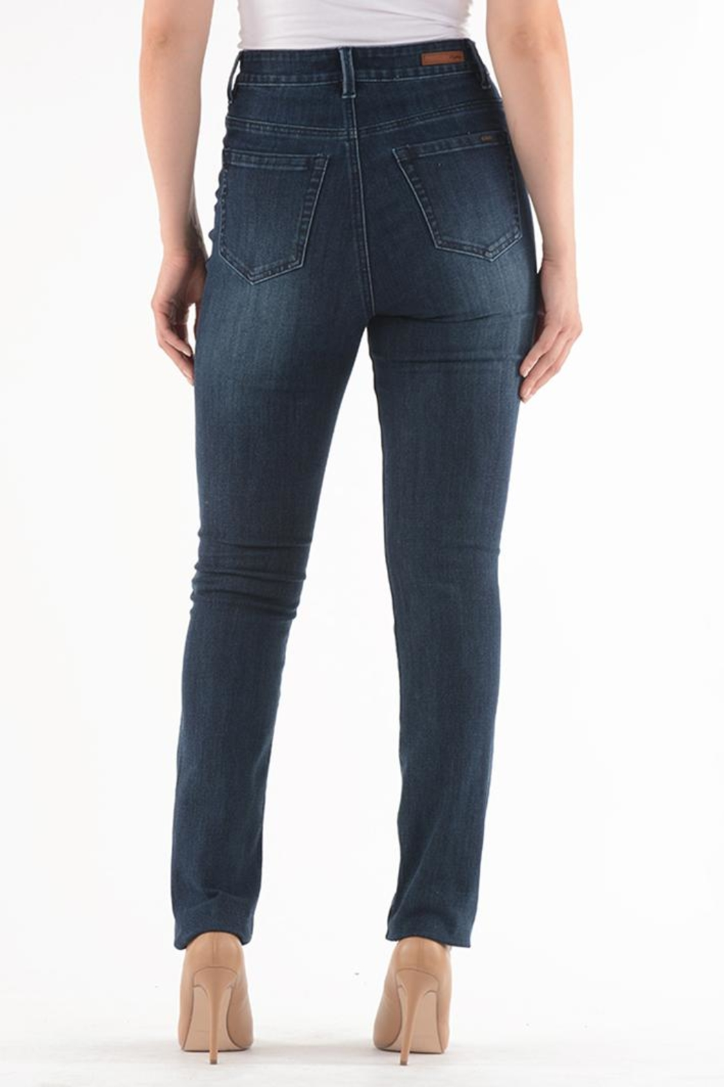 Lois Jeans Tina High-Rise Jean - Front Full Image