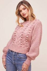 ASTR the Label Tina Sweater - Front cropped
