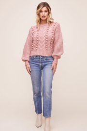 ASTR the Label Tina Sweater - Front full body