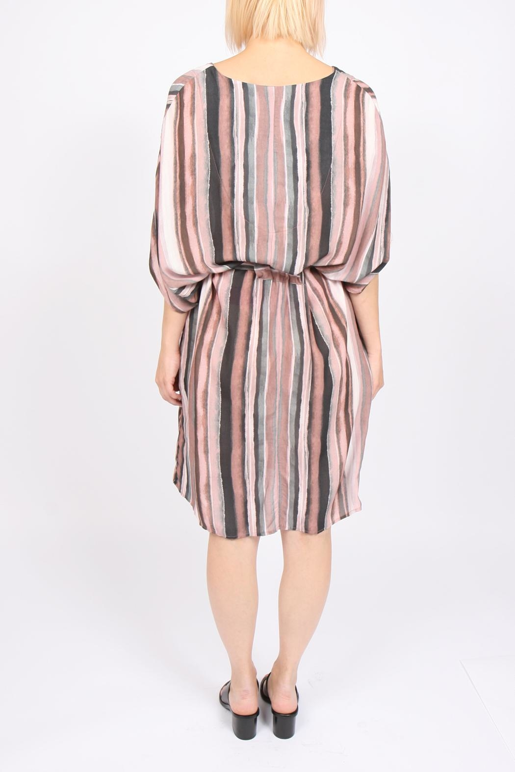 Tina + Jo Sadona Stripe Kaftan-Dress - Front Full Image