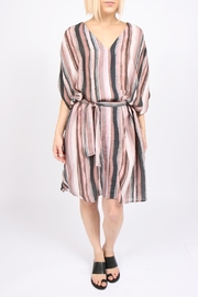 Tina + Jo Sadona Stripe Kaftan-Dress - Front cropped