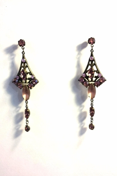 Shoptiques Product: Swarovski Crystal Earrings