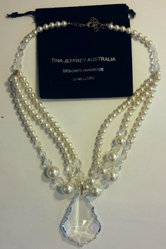 Shoptiques Product: Swarovski Crystal & Pearls