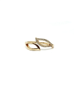 Shoptiques Product: Adjustable Gold Plated Ring