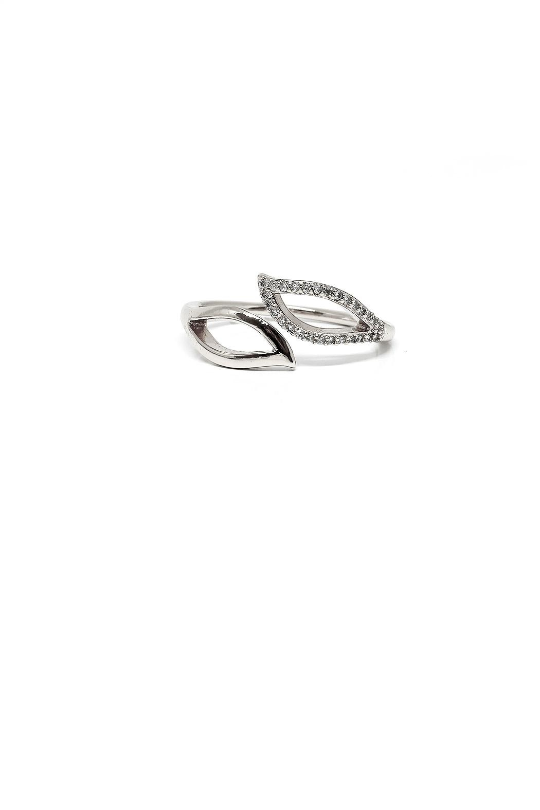 TINK TINK Adjustable Rhodium Ring - Main Image