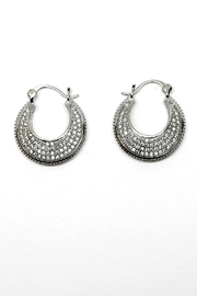 TINK TINK Circular Hoops Earrings - Front cropped