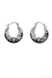 TINK TINK Circular Hoops Earrings - Front full body