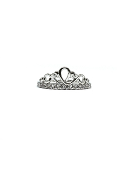 Shoptiques Product: Crown Adjustable Ring