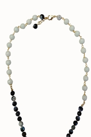 TINK TINK Crystal Tassel Necklace - Front full body