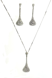TINK TINK Drop Necklace Silver Set - Product Mini Image