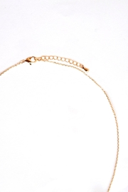 TINK TINK Glamorous Golden Snake Necklace - Front full body