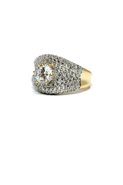TINK TINK Gold-Plated Big Ring - Product Mini Image