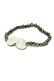 TINK TINK Green Pearl Bracelet - Product Mini Image