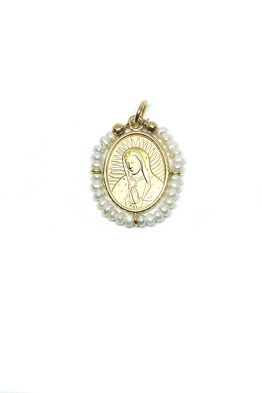 TINK TINK Guadalupe's Virgin Medal - Main Image