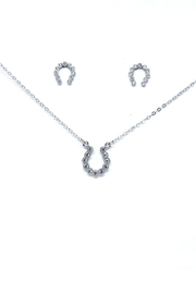 TINK TINK Horseshoe Silver Set - Front cropped