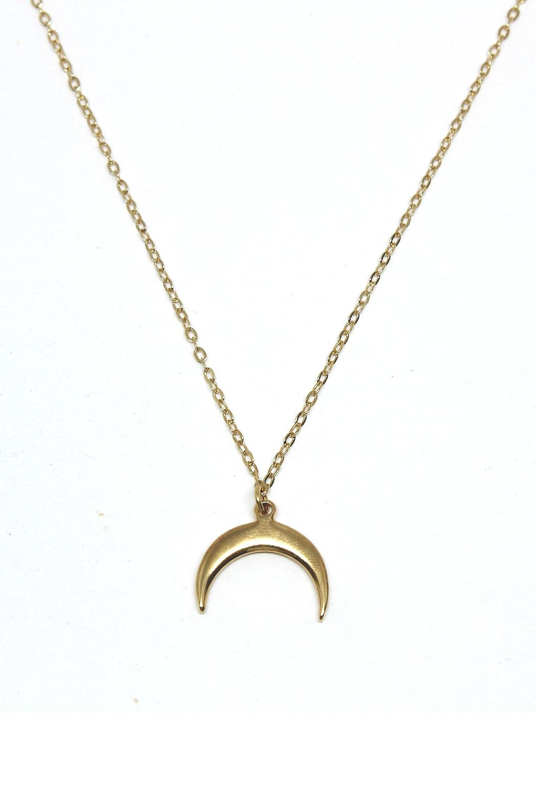 TINK TINK Inverted Moon Necklace - Main Image