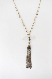 TINK TINK Long Quartz Necklace - Product Mini Image