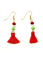 TINK TINK Mexican Tassel Earrings - Front cropped