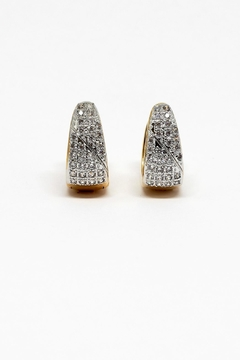 Shoptiques Product: Reversible Bright Huggies Earrings