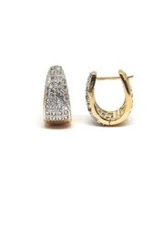 TINK TINK Reversible Bright Huggies Earrings - Side cropped