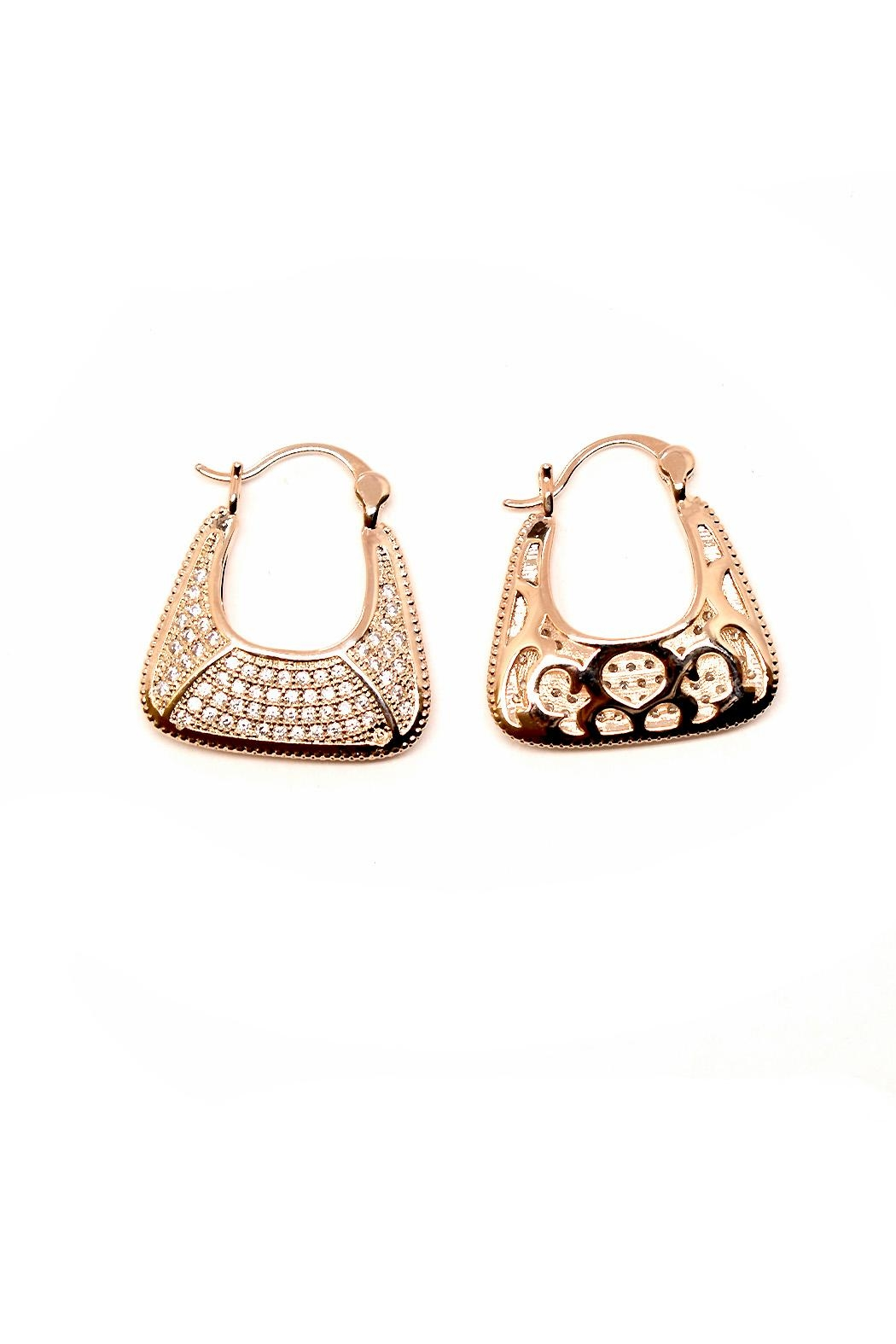 TINK TINK Reversible Hoop Earrings - Main Image