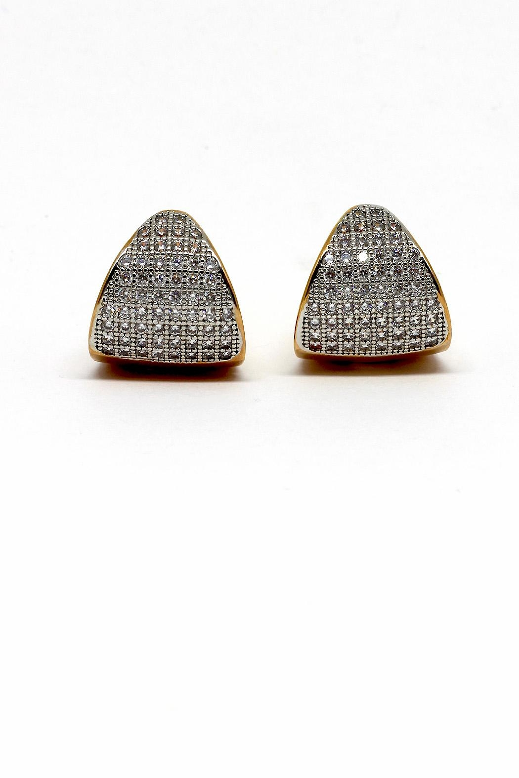 TINK TINK Reversible Gold Plated Earrings - Main Image