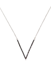 TINK TINK Rhodium Necklace & Zirconia - Product Mini Image