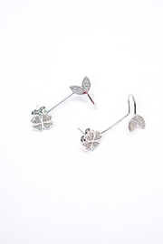 TINK TINK Silver Cuff Earrings - Product Mini Image