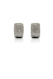 TINK TINK Square Huggie Earrings - Product Mini Image