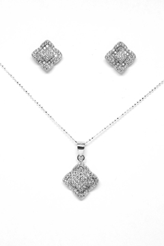 TINK TINK Square Silver Necklace Set - Product List Image