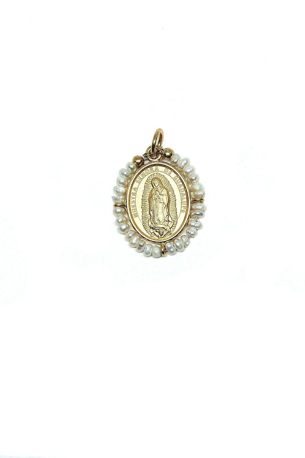 TINK TINK Virgin Guadalupe Medal - Main Image