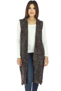 Shoptiques Product: Tinsel Hooded Vest