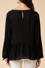 Entro Tinsel Threaded Blouse - Front full body