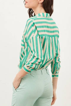 Tinsels Mirtha Cabanes Top In Menthe - Alternate List Image