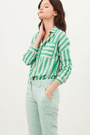 Tinsels Mirtha Cabanes Top In Menthe - Front full body