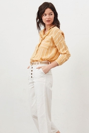 Tinsels Mirtha Pause Top In Soleil - Front full body