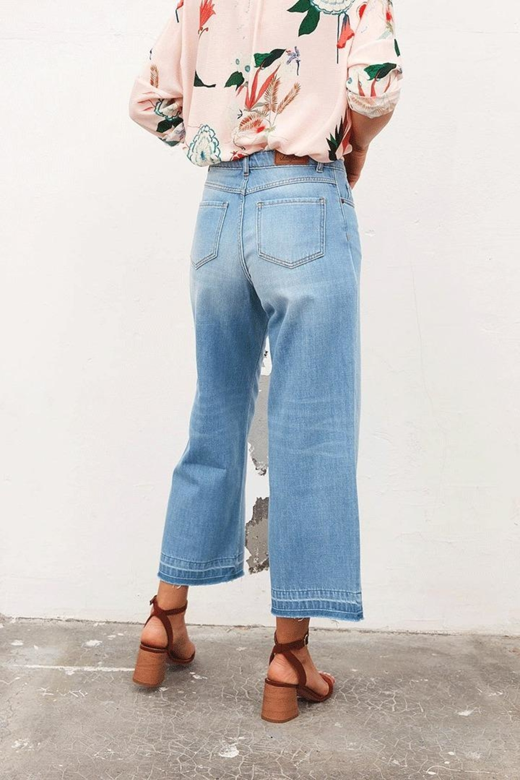 Tinsels Orson Onblue Denim In Ciel - Side Cropped Image