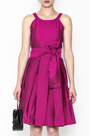 Tintoretto Purple Dress - Front full body