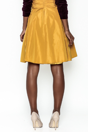 Tintoretto Silk Skirt - Back cropped