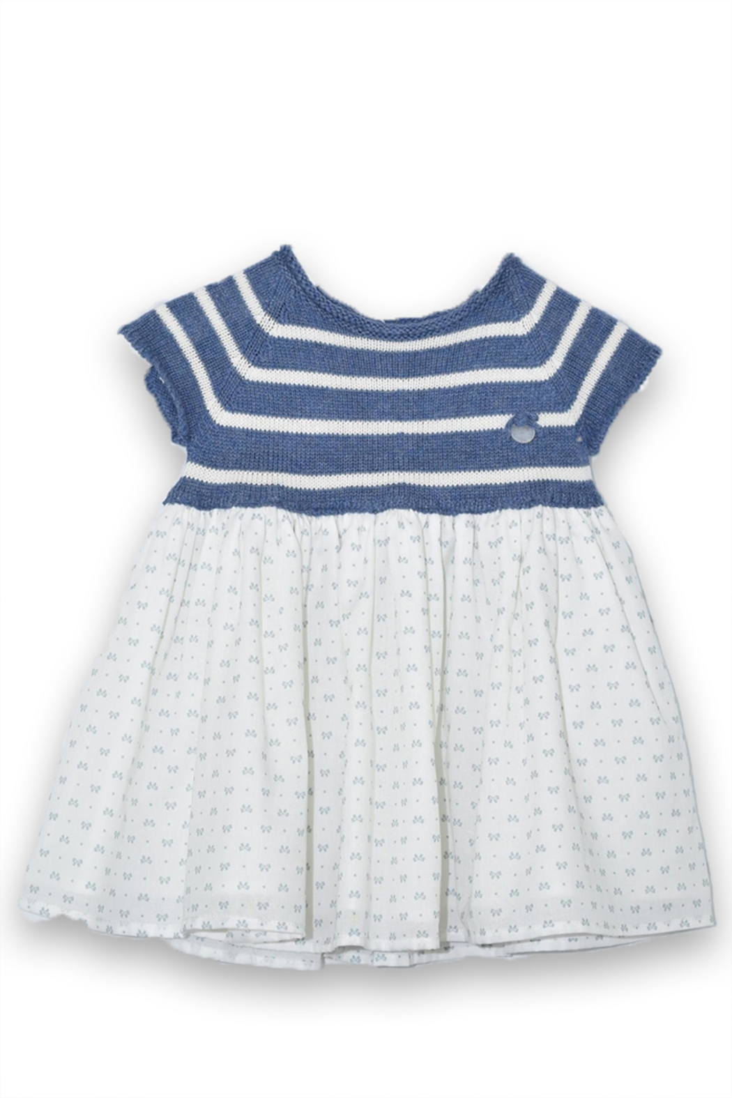 cesar blanco Tiny Bows Dress - Front Cropped Image
