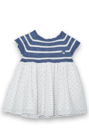 cesar blanco Tiny Bows Dress - Front cropped