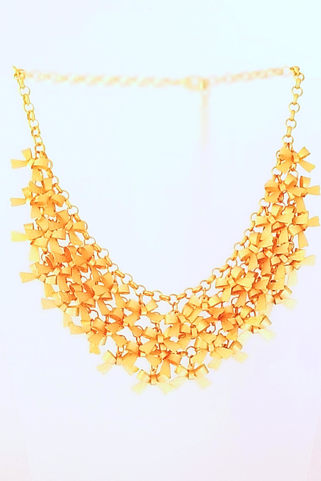 114f8b92df688d Pretty Persuasions Tiny Bows Necklace from Maryland by Leila Jewels ...