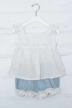 cesar blanco Tiny Bows Outfit - Product List Image