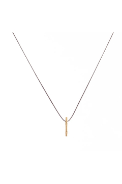 Bronwen Tiny Charm Matchstick Necklace - Product List Image