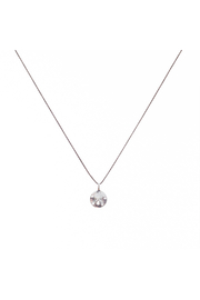 Bronwen Tiny Charm Sand Dollar Necklace - Front cropped