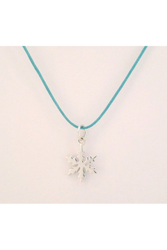 Bronwen Tiny Charm Snowflake Necklace - Product List Image