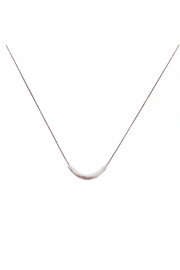Bronwen Tiny Charm Thai Smile Necklace - Front cropped